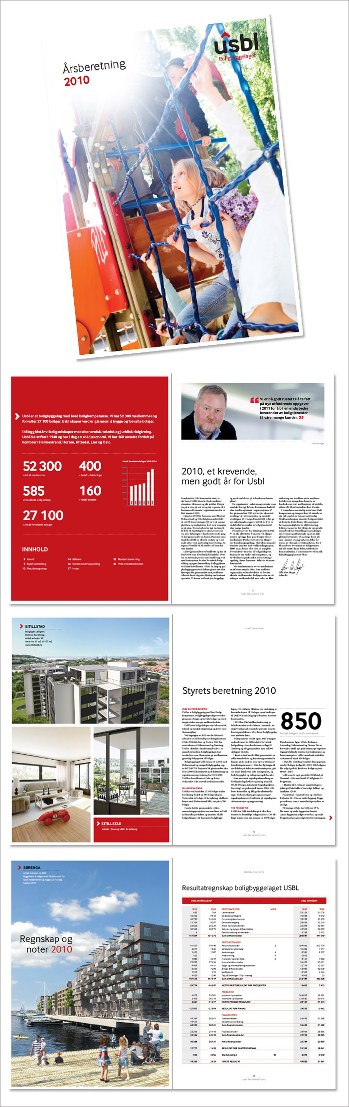 USBL årsrapport 2010