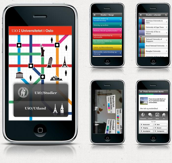 UiO iPhone App