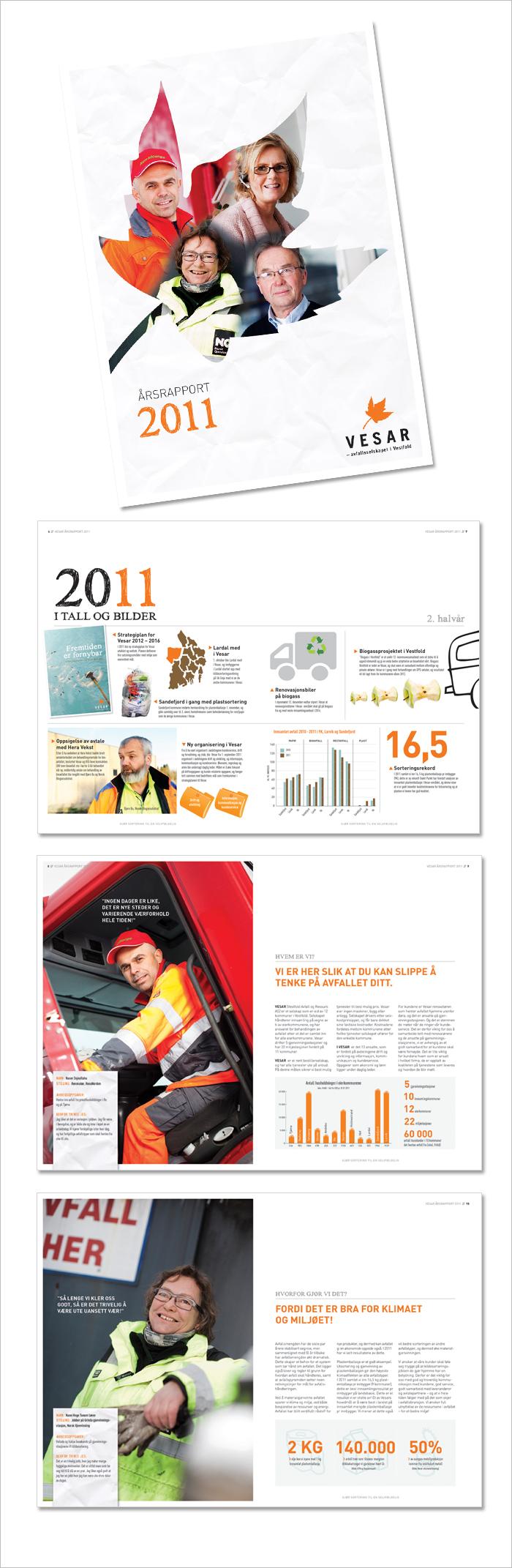 Vesar – årsrapport 2011