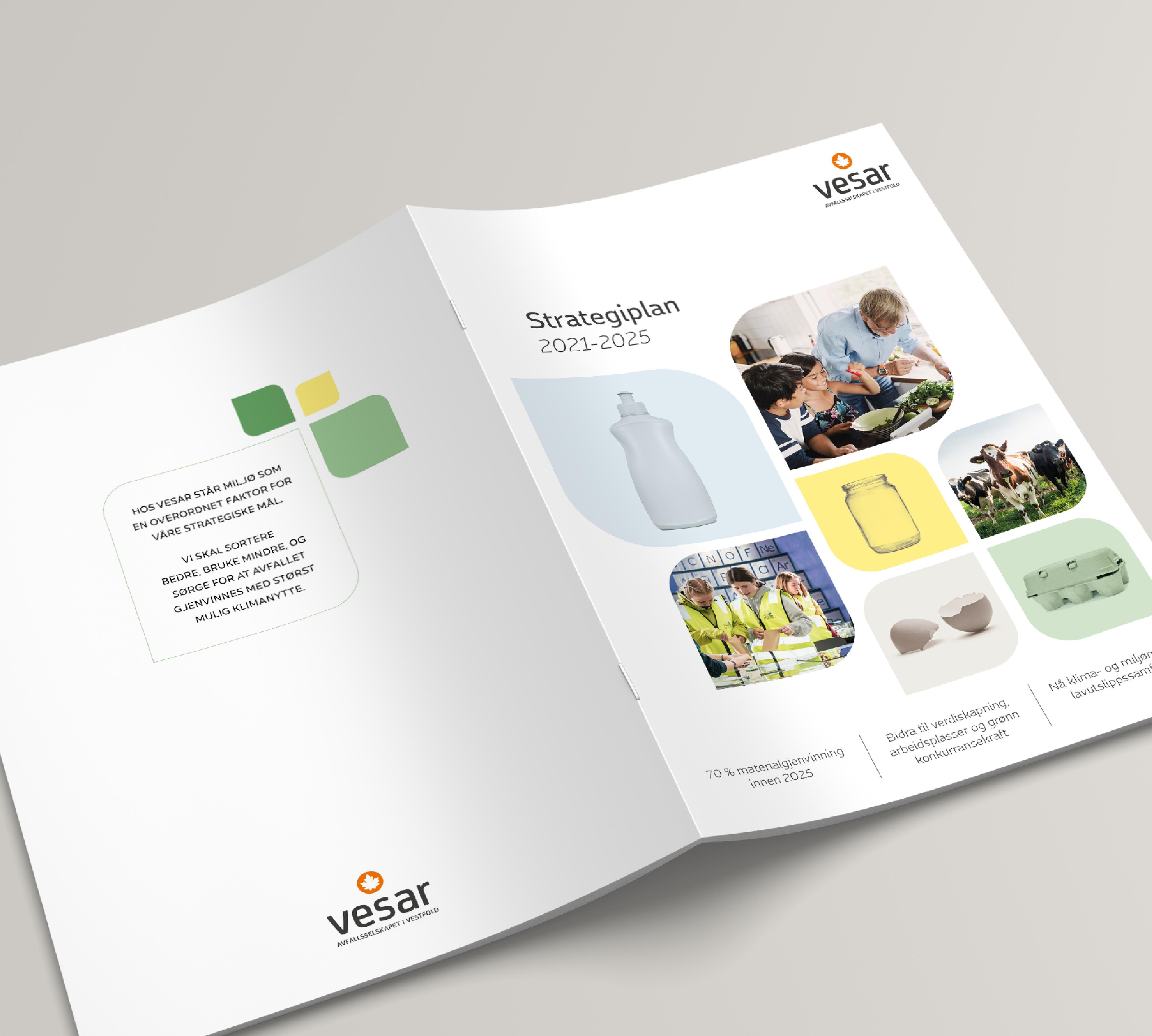 Vesar strategiplan for 2021-2025